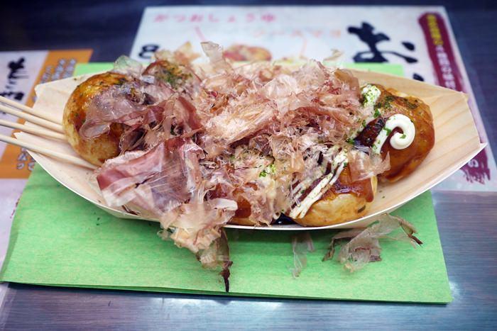 [大阪美食] たこ焼き道楽 わなか 章魚燒 – 難波店