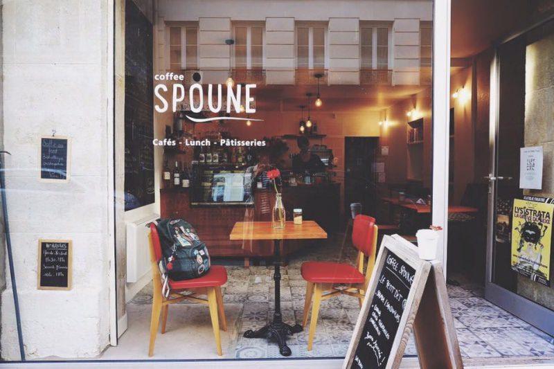 [法國] 巴黎 北瑪黑咖啡館散策 Coffee Spoune