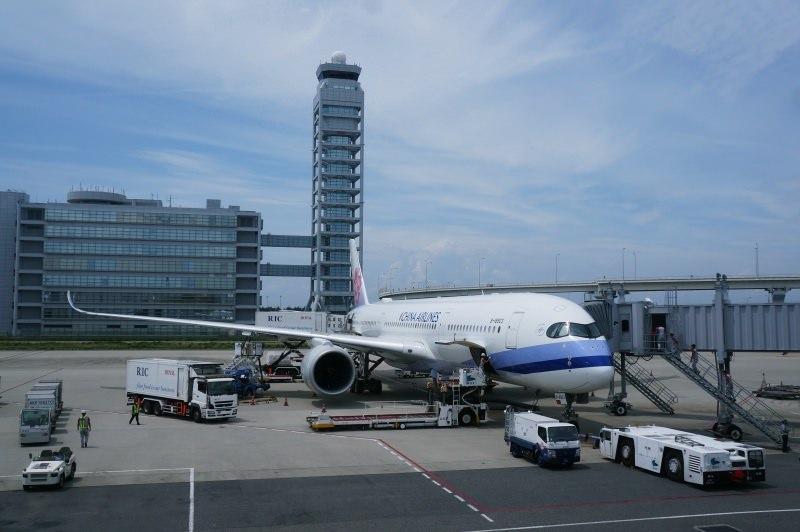 [日本] 中華航空 A350-900經濟艙 大阪KIX- 台北TPE CI153