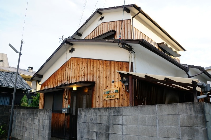 [愛媛住宿] 松山 ゲストハウスじょじょに Guesthouse jojoni (近道後溫泉)