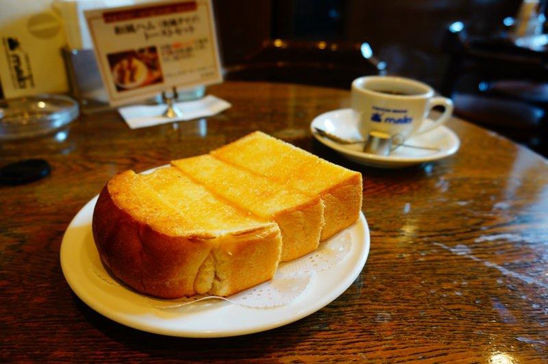 [京都] 鴨川旁咖啡館吃早餐 COFFEE HOUSE maki