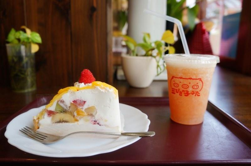 [香川] 高松 地元人愛店 水果店直營蛋糕屋 三びきの子ぶた