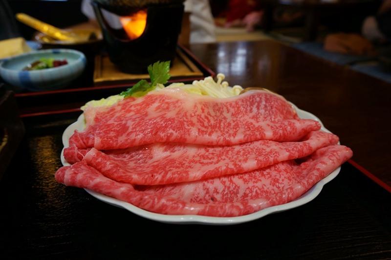 [京都] 祇園 花見小路 – 十二段家 壽喜燒 涮涮鍋