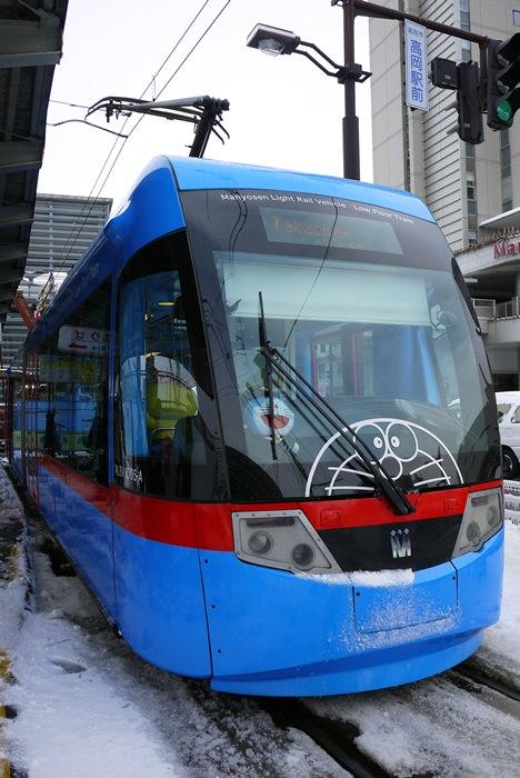 [北陸] 高岡市 – ドラえもんトラム 哆啦A夢 路面電車