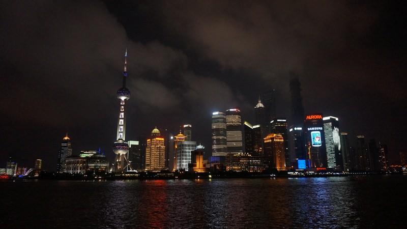 [上海] 風華絕代外灘風情 萬國建築群夜景