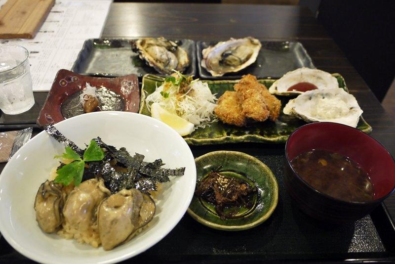 [廣島美食] 宮島 – 牡蠣屋 隱藏版定食