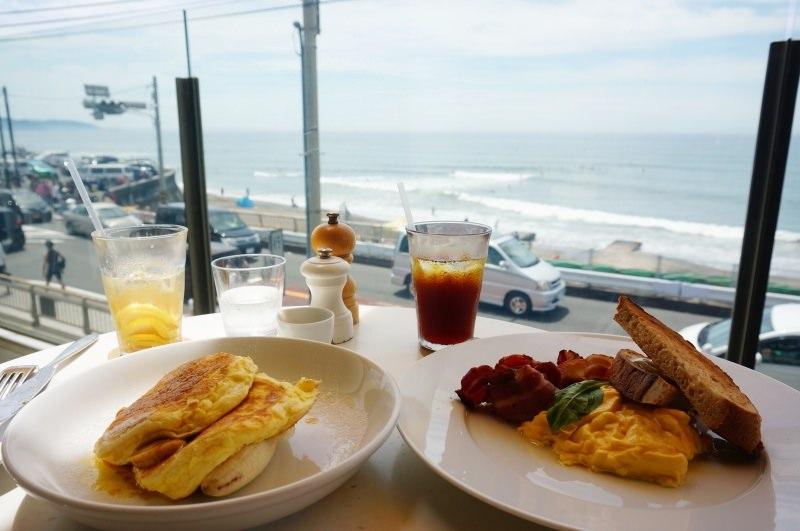 [神奈川] 鎌倉 七里之浜 海天一色無敵海景早餐 Bills