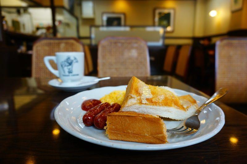 [京都] 高木珈琲 高辻本店 早餐
