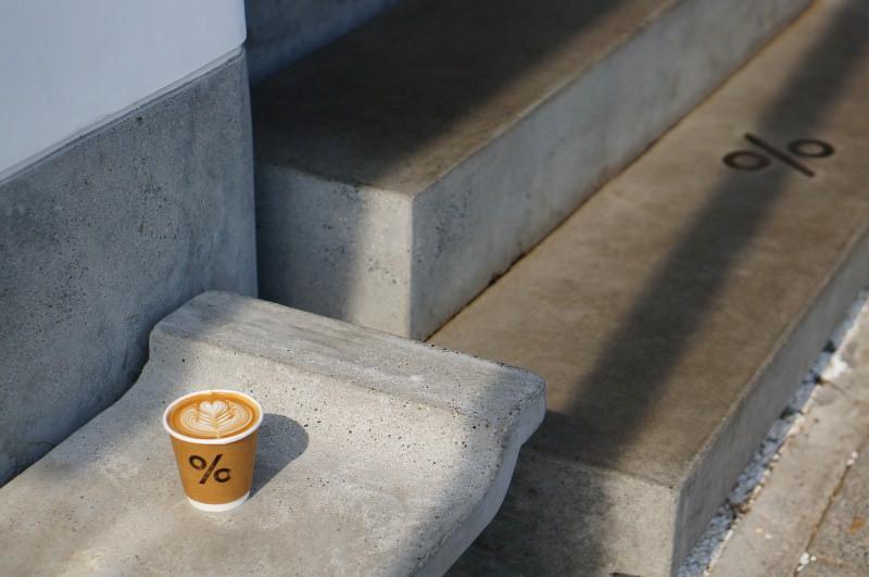 [京都] 嵐山 渡月橋旁設計感咖啡館 % Arabica Kyoto Arashiyama