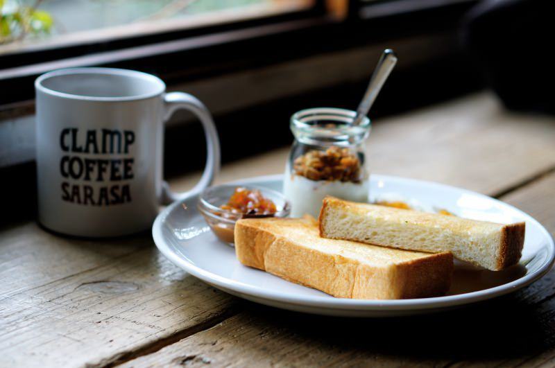 [京都] 二条 CLAMP COFFEE SARASA カフェ さらさ