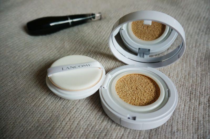 [美妝] 蘭蔻Lancome 黑天鵝睫毛膏&激光煥白氣墊粉餅