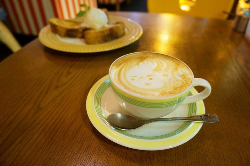 [京都] 來杯可愛拉花的卡布奇諾 boogaloo cafe 寺町店